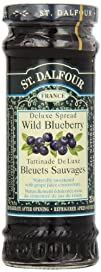 St. Dalfour Wild Blueberry Conserves,…
