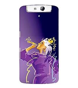 EPICCASE Party Girl Mobile Back Case Cover For OPPO N1 (Designer Case)