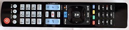 Ersatz Fernbedienung für LG 3D SMART TV AKB73615303 = AKB73615397 = AKB73615362 42PM4700, 37LN540B. AN-MR400 Magic Motion Remote. Supported models: AKB73615303 AKB73615362 AKB73615302 AKB73615361 AKB73615362, 42PM470T, 50PM470T, 50PM670T, 50PM680T, 42LA6230, 32LM620T, 42LM620S, 42LM620T, 42LM660T, 32LN5400, 32LN540B, 37LN540B, 39LN5400, 42LN5400, 42PN450B, 47LN5400, 50LN5400, 50PN450B, 50PN6500, 60PN6500. AKB73715603, 32LN5700, 42LN5700, AKB73615397. 100% replacement for AKB73615397, AKB73615362