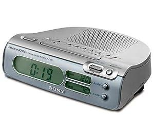 sony icf c273l clock radio tv. Black Bedroom Furniture Sets. Home Design Ideas
