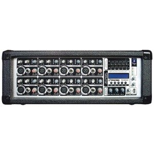 PYLE-PRO PMX802M 8-CHANNEL 800-WATT POWERED MIXER