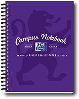Oxford Campus Notebook Lot de 5 cahiers à spirale Violet Format A5