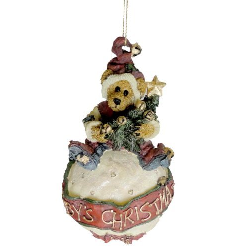 Boyds Bears Baby's Christmas Ornament. Limited To 1998 Production Retired 25954 by BOYDS BEARS RESIN (Boyds Bears Retired Resin compare prices)