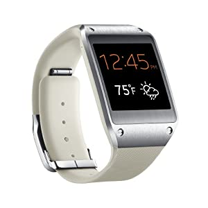 Amazon.com: Samsung Galaxy Gear Smartwatch- Retail Packaging - Oatmeal ...