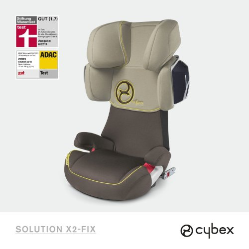 Cybex Gold Line Autositz Solution X2-Fix Natural-khaki