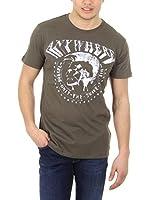 Diesel Camiseta Manga Corta T-Bert (Caqui)