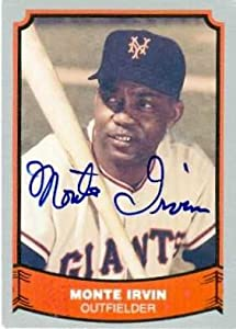 Monte Irvin autographed Baseball Card (New York Giants) 1989 Pacific Baseball Legends... by Autograph Warehouse