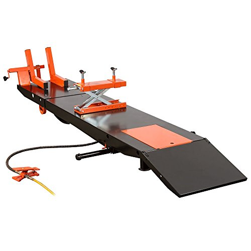 Rage Powersports BW-PROLIFT-HD Air OP Heavy Duty ProLift 1,500 lb Motorcycle Scissor Lift Table (Motorcycle Side Lift compare prices)