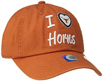Buy Ladies Texas Longhorns NCAA Lovin? It Adjustable Hat by Top of the World (Rust) by Top of the World