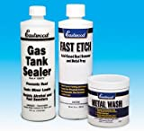 Eastwood Motorcycle Cycle Gas Fuel Tank Sealer Kit