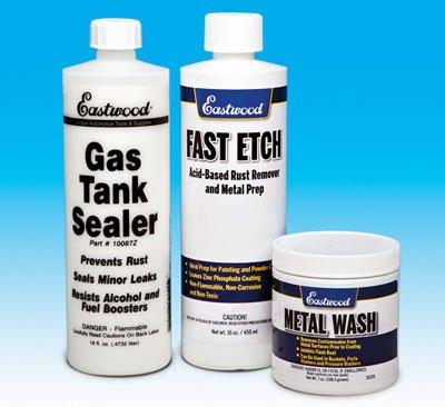 Eastwood Motorcycle Cycle Gas Fuel Tank Sealer Kit