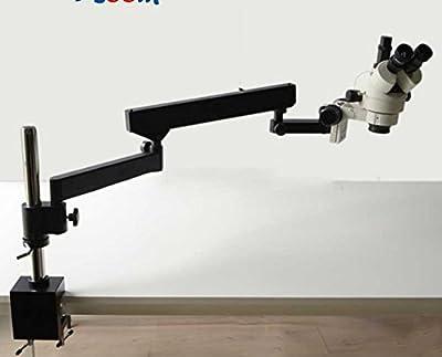 GOWE 3.5X-90X ARTICULATING ARM STEREO ZOOM MICROSCOPE+SZM2.0X+SZM0.5X Auxiliary Object Lens Microscope Accessories