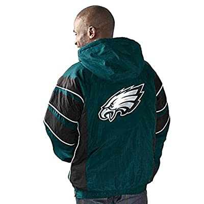 Philadelphia Eagles Starter Jacket half zip pullover with hood NFL apparel