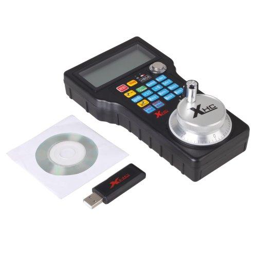 Keedox® Cnc 3 Axis Electronic Wireless Usb Handwheel Pulse Generator Mpg Pendant For Mach 3 4Axis Engraving Machine Router (Handwheel-04)