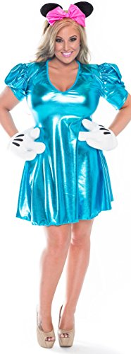 Delicate Illusions Plus size Minnie Mouse Costume - Party Mouse