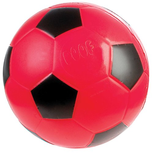 Poof-Slinky - 7.5-Inch Foam Soccer Ball, Assorted Colors, 750Bl