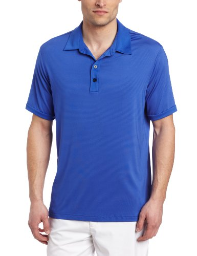Adidas Golf Men's Climate Micro stripe Polo Shirt
