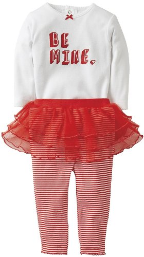 Carters Baby Girls Valentine'S Day Tutu Legging Set (24 Months) front-162504
