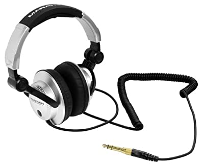 Marathon Djh-1100 Professional High Performance Stereo Dj Headphones by Marathon Professional