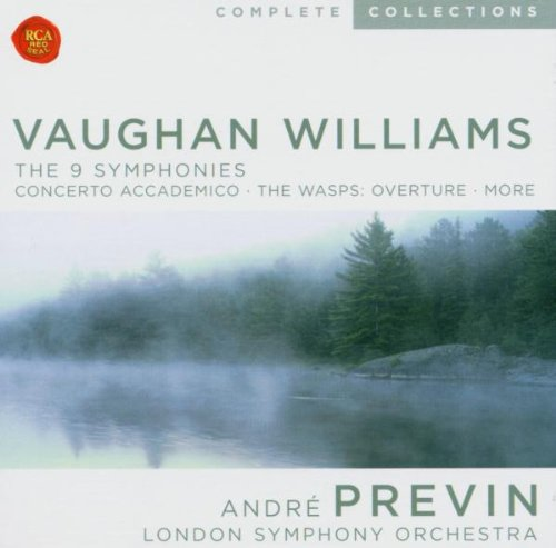 Vaughan Williams: The 9 Symphonies by Vaughan Williams and Previn