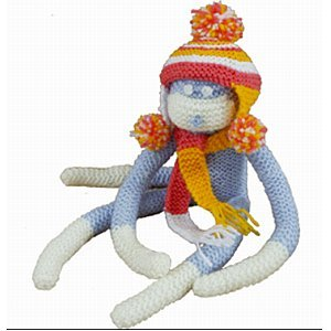Knit It Monkey Kit - 1