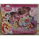 Disney Princess Make-Up Center (Featuring Various Princesses Including Ariel, Snow White, Sleeping Beauty, Cinderella, Belle, Tiana, and Rapunzel)