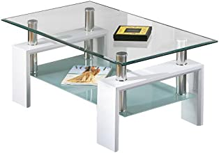 Links 50100040 Alva Table Basse Blanc 100 x 60 x 45 cm