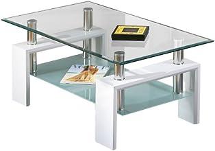 Links 50100040 Alva Table Basse Blanc 100 x 60 x 45 cm