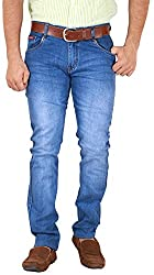 GOSWHIT Men's Slim Fit Jeans - 36
