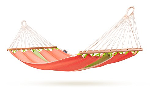 La Siesta Fruta Colombian Single Hammock With Spreader Bars, Mango (Discontinued By Manufacturer)