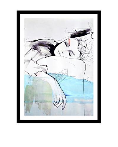 Leigh Viner Maddelina Artwork on Framed Paper