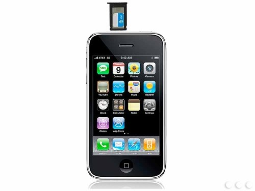 Convert iPhone 4 micro SIM into Regular SIM Adapter for Apple iPhone 2G, iPhone 3G, & 3G S