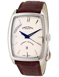 Bargain!! Armand Nicolet Men's 9630A-AG-P968MR3 TM7 Classic Automatic Stainless-Steel Watch Deals