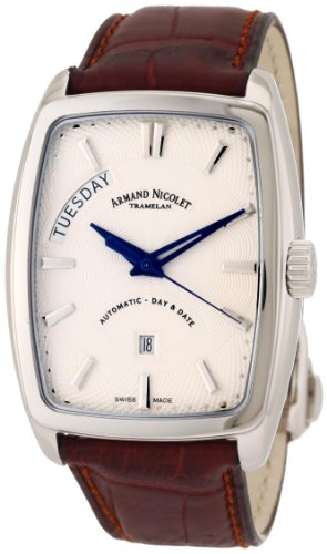 Armand Nicolet Men's 9630A-AG-P968MR3 TM7 Classic Automatic Stainless-Steel Watch