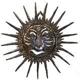 Sun Face - Drum Art - 24 inch - Haiti - Fair Trade