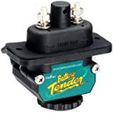 Battery Tender 027-0004-BK Black Power Connect Trolling Motor D/C Connector