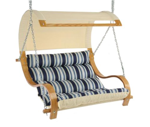 Hatteras CMN The Mariner - The Hamptons Summer - Cushioned Double Swing