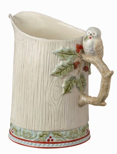 Grasslands Road Winter Wilderness Pitcher, 20-Ounce