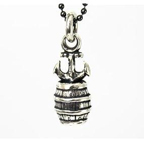 VASSER(バッサー)×VASCO(バスコ) Anchor Barrel Pendant Silver(アンカーバレルペンダントシルバー)