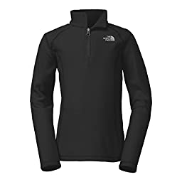 The North Face Girl\'s Glacier 1/4 Zip (X-Small)