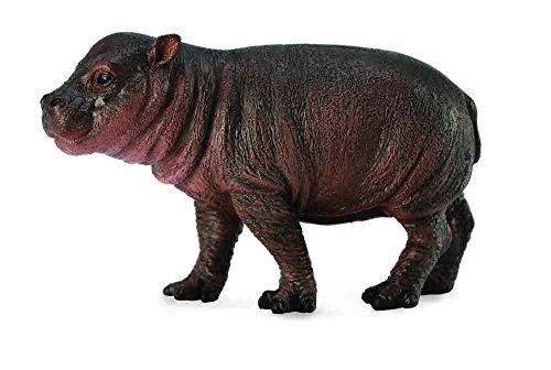 Collect A Wild Life Pygmy Hippopotamus Calf Toy Figure