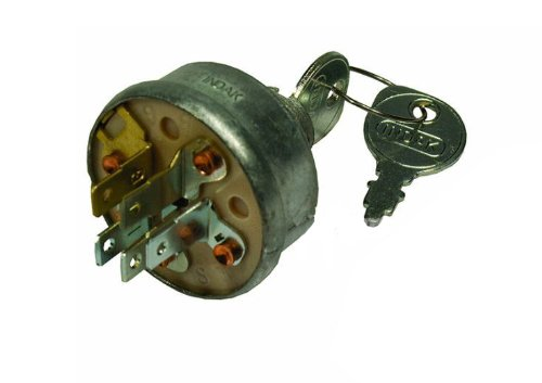 Mtd Garden Tractor Ignition Switch : Ignition key switch sears mtd craftsman john deere toro