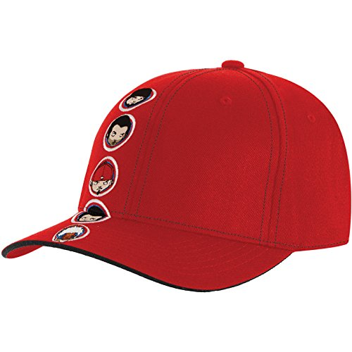 Limp Bizkit Men's Head Shot Baseball Cap Large / X-Large Red (Limp Bizkit Merchandise compare prices)