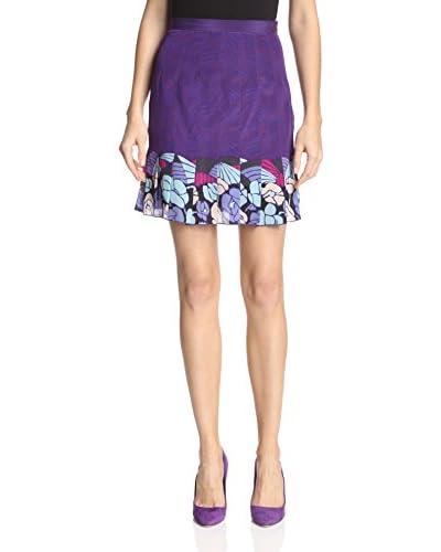 Anna Sui Women's Rosine Print Skirt
