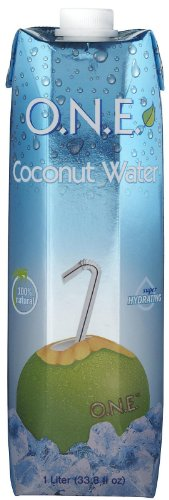 One Natural 100% Natural Coconut Water, 33.81 oz, 12 ct