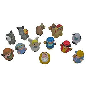 Fisher Price Little People Nativity Scene Manger Set