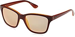 Vogue Mirrored Women's Sunglasses - (0VO2896S2279R554 54 Grey Mirror and Rose Gold)