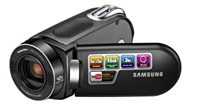 Samsung SMX-F34 Flash Memory Camcorder w/16GB Memory & 42x Intelli-Zoom (Black)