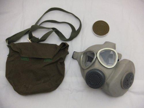 中国人民解放軍 65式ガスマスク レア本物未使用 防毒マスク 毒ガスマスク 毒マスク C007