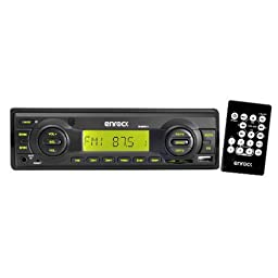 New Boat Indash Player USB AUX Remote w/3 Pairs of 4\
